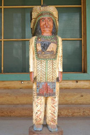 Cigar Store Indian Frank Gallagher 4 Footer 4