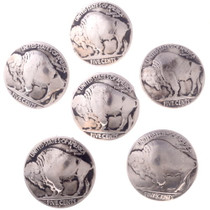 Genuine Buffalo Nickel Button 20232