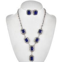 Native American Necklace Earrings Set