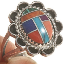 Native American Shell Gemstone Ring 28617