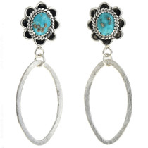 Turquoise Dangle Earrings 27290