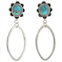 Turquoise Dangle Earrings 27290