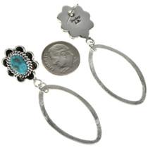 Brushed Silver Hoop Earrings 27290