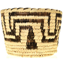 Geometric Pattern Basket