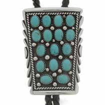Turquoise Cluster Bolo 23414