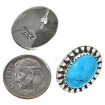 Turquoise Silver Earrings 23428