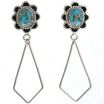 Turquoise Dangle Earrings 27288