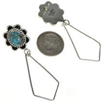 Silver Triangle Earrings 27288