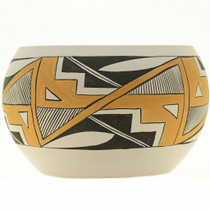 Acoma Polychrome Pottery