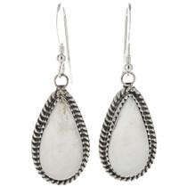 Wild Horse Silver Dangle Earrings