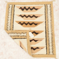 Ceremonial Basket Pattern Wool Rug