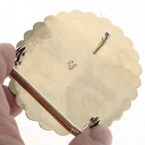 Handmade Gold Belt Buckle 15952