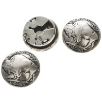 US Nickel Button Cover 23485