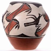 Authentic Polychrome Pot
