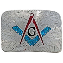 Freemason Belt Buckle 23684