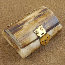 Quality Genuine Bone Treasure Chest Jewelry Gift Box 5