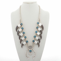 Navajo Bear Claw Necklace 27899