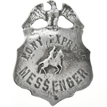 Pony Express Messenger Badge