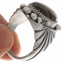 Big Boy Onyx Silver Ring 24018