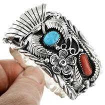 Southwest Sterling Watch Cuff 16029