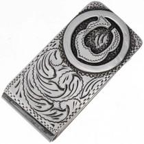 Custom Silver Money Clip 10959