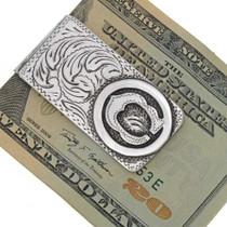 Initial Brand Money Clip 10959