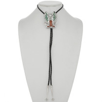 Turquoise Coral Bolo Tie 26318