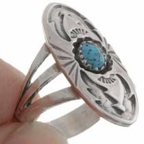 Kingman Turquoise Ring 27233