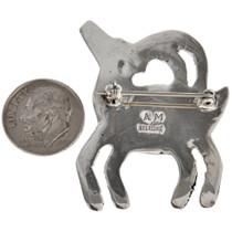 Navajo Sterling Animal Pin 29614