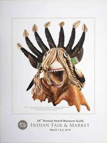 Fair Market 2014 Kachina Poster