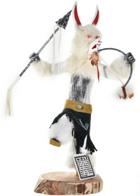 White Wolf Kachina Doll 29371