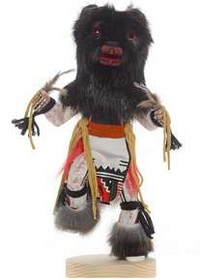 Black Bear Kachina Doll 26722