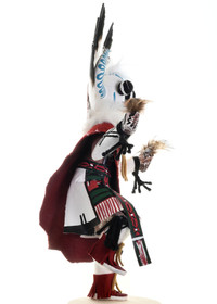 White Ogre Kachina Doll 22049