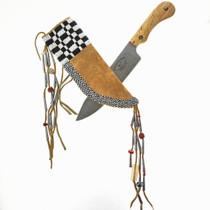Indian Beaded Knife Sheath 28886