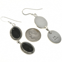 Navajo Gemstone Dangle Earrings 29068