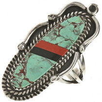 Turquoise Navajo Pointer Ring