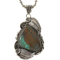 Nevada Turquoise Pendant With Bale
