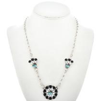 Zuni God's Eye Necklace