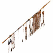 Ceremonial Indian Bone Tipped Spear 27836