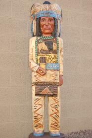 5 Foot Cigar Store Indian by Frank Gallagher