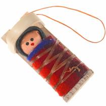 Pendleton Blanket Wraped Body Ornament