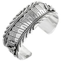 Christian Silver Navajo Cuff 16636