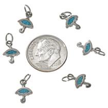 Southwest Turquoise Umbrella Charm 17440