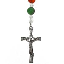 Southwest Gemstone Rosary Necklace 21562