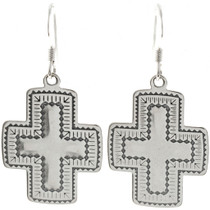 Navajo Cross Earrings 23644