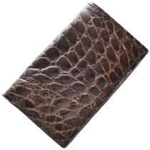 Genuine Alligator Business Card Holder 29047