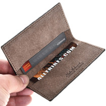 Leather Business Card Holder Wallet 29047