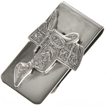 Western Saddle Money Clip