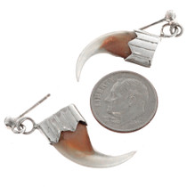 Bobcat Claw Earrings 23618