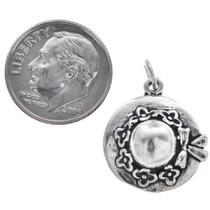 Sterling Silver Ladies Hat Charm Bracelet Charm Pendant Necklace